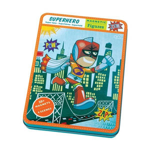 Magnetic Play Set Superhero | Package | The Gifted Type