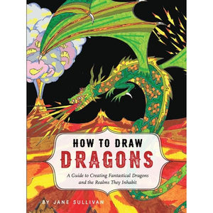 How To Draw Dragons | Creative And DIY Books | The Gifted Type
