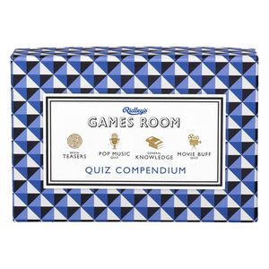 Ridley's Quiz Compendium Party Game | The Gifted Type