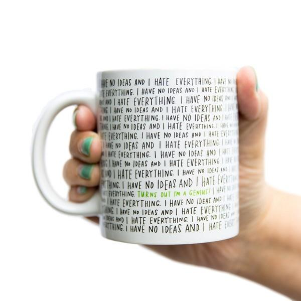 Emily McDowell Mug I Have No Ideas And I Hate Everything | The Gifted Type