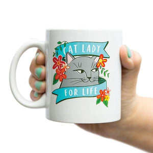 Emily McDowell Mug Cat Lady | The Gifted Type