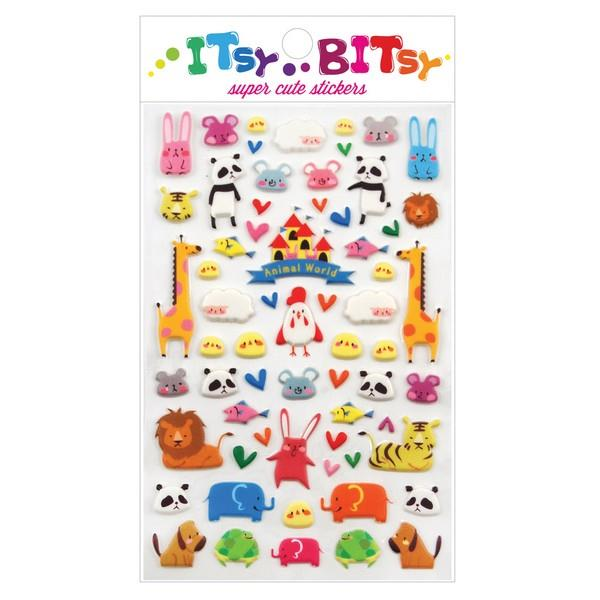 Itsy Bitsy Stickers Animal World | The Gifted Type