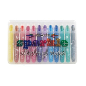 Sparkle Watercolour Gel Crayons | The Gifted Type