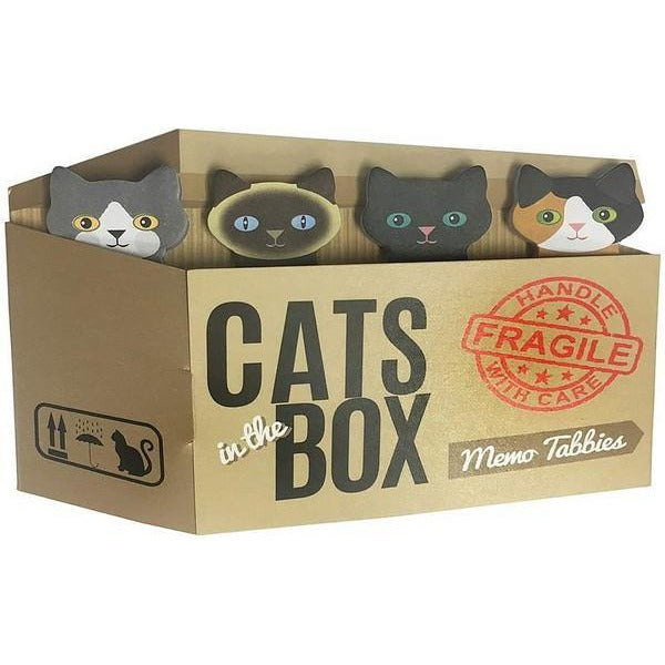 Cats in the Box - Memo Tabbies