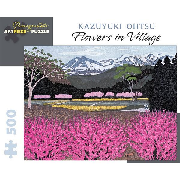 Pomegranate Puzzle Flowers In Village | 500 Pieces | The Gifted Type