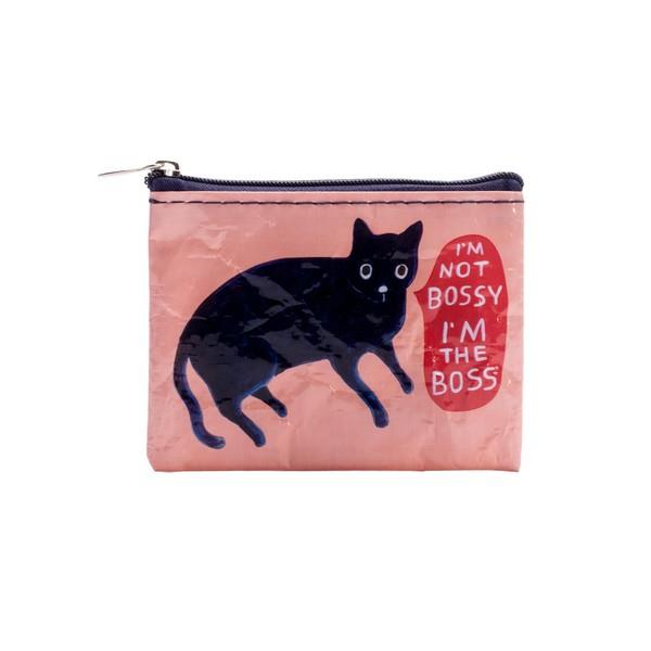 Blue Q Coin Purse I'm Not Bossy, I'm The Boss | The Gifted Type
