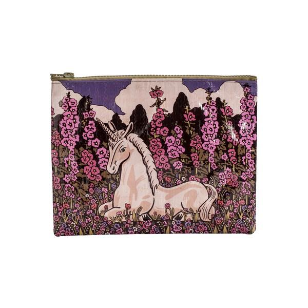 Blue Q Zipper Pouch Unicorn | The Gifted Type