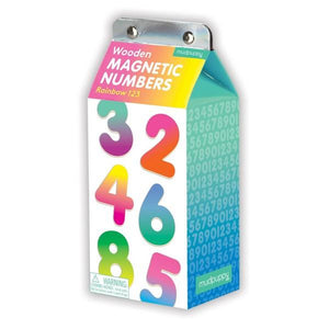 Wooden Magnets Rainbow 123 | Educational Toys | The Gifted Type