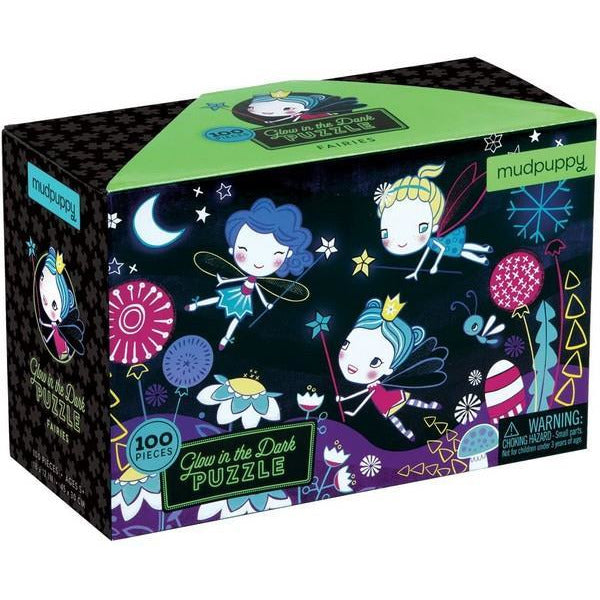 Glow Fairies- 100 Piece Puzzle