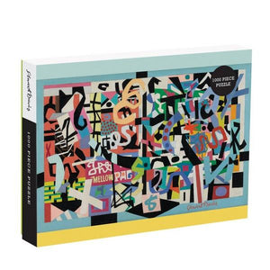 Galison Puzzle Stuart Davis | 1000 Pieces | The Gifted Type
