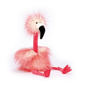 Jellycat Medium Mad Pets Flora Flamingo | The Gifted Type