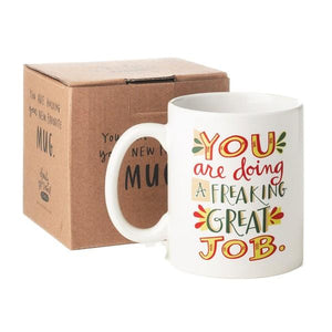 Emily McDowell Mug Freaking Great Job | The Gifted Type