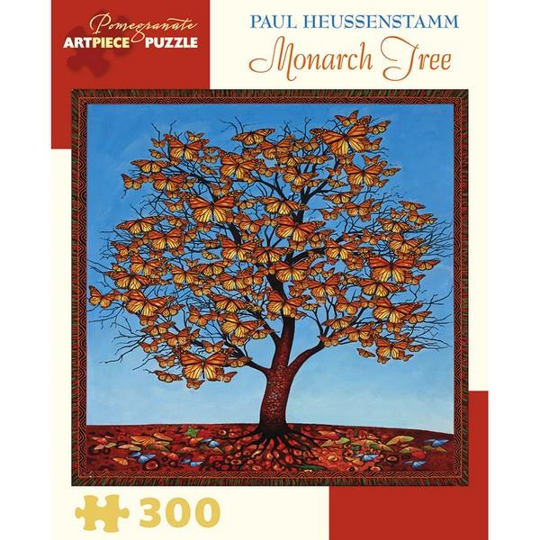 Pomegranate Puzzle Monarch Tree | 300 Pieces | The Gifted Type