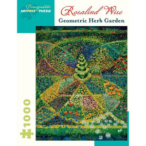 Pomegranate Puzzle Geometric Herb Garden | 1000 Pieces | The Gifted Type
