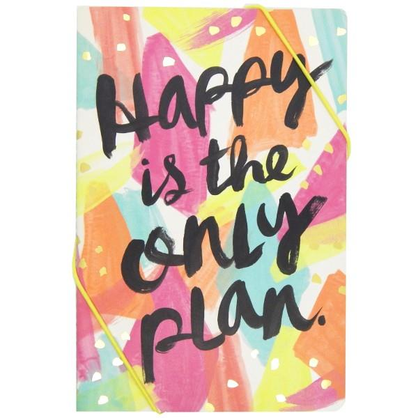 Happy Is The Only Plan | Notebook Set | The Gifted Type