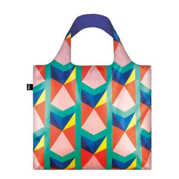 Loqi Tote Bag Geometric Triangles | The Gifted Type