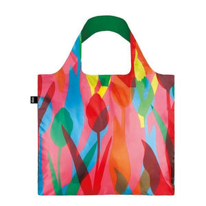 Loqi Tote Bag Travel Tulips | The Gifted Type