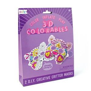 3D Colouring Kit Creative Critter Mask | The Gifted Type