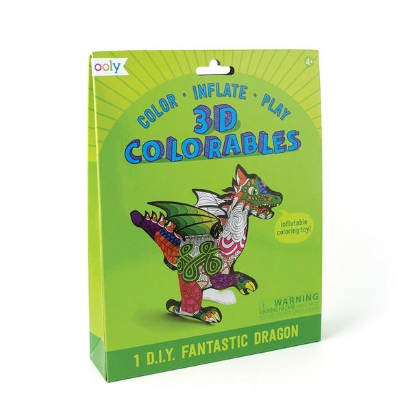 3D Colouring Kit Fantastic Dragon | The Gifted Type