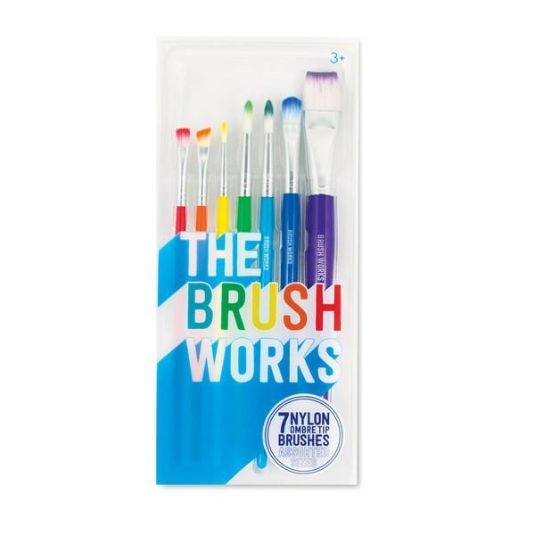 The Brush Works Paintbrushes | The Gifted Type