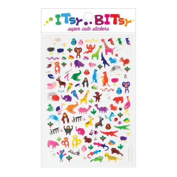 Itsy Bitsy Stickers Jungle Pals | The Gifted Type