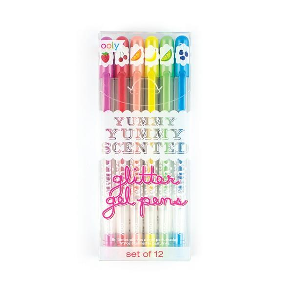Yummy Yummy Scented Glitter Gel Pens | The Gifted Type