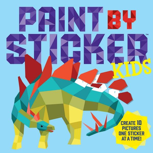 Paint By Sticker Kids | Creative And DIY Books | The Gifted Type