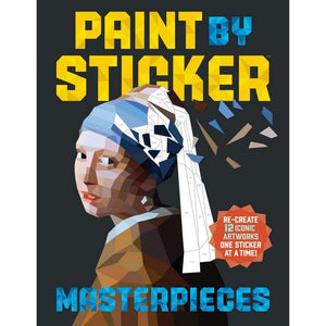 Paint By Sticker Masterpieces | Creative And DIY Books | The Gifted Type