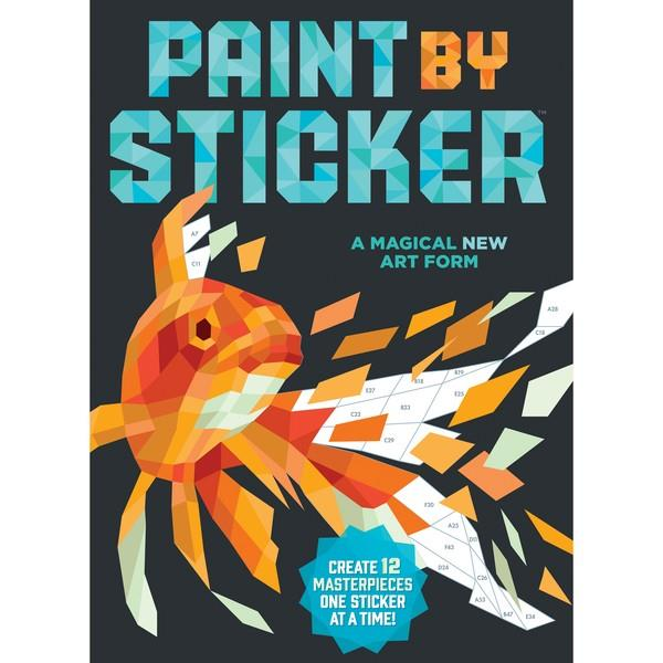 Paint By Sticker Original | Creative And DIY Books | The Gifted Type