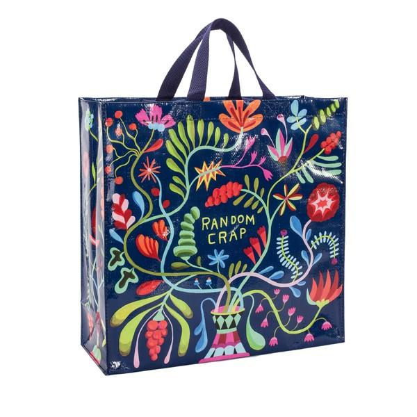 Blue Q Shopper Tote Random Crap | The Gifted Type