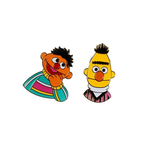 Drake General Store Enamel Pin Set Bert + Ernie | The Gifted Type