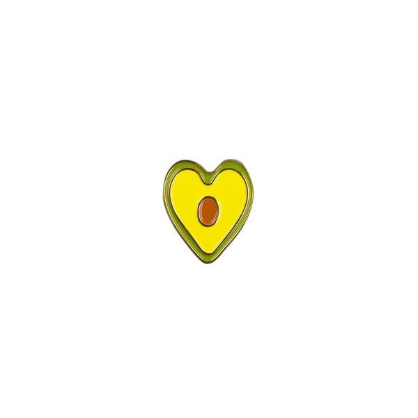 Drake General Store Enamel Pin Avocado Heart | The Gifted Type