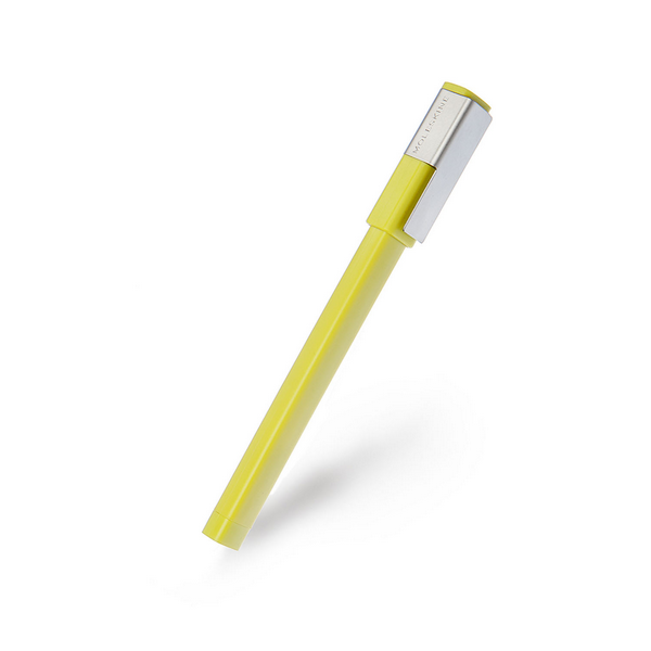 Moleskine Hay Yellow Roller Pen | The Gifted Type
