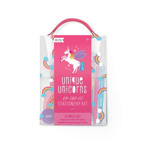 On-The-Go Stationery Kit Unique Unicorns | The Gifted Type