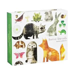 Boxed Notecards QuickNotes Forest Friends Set Of 20 | The Gifted Type