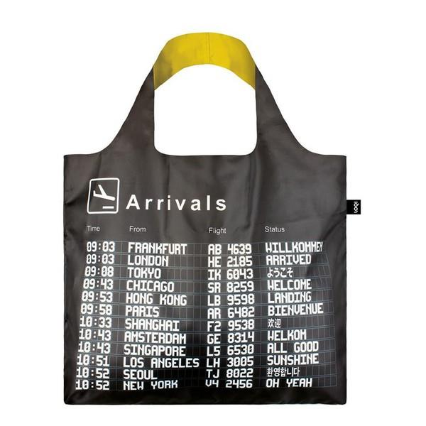 Loqi Tote Bag Airport Arrivals | The Gifted Type