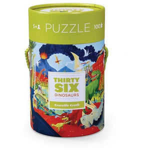 Thirty Six Dinos Floor Puzzle - 100 Pieces