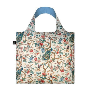 Loqi Tote Bag Peacocks & Peonies | The Gifted Type