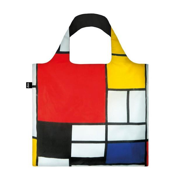 Loqi Tote Bag Piet Mondrian Composition | The Gifted Type