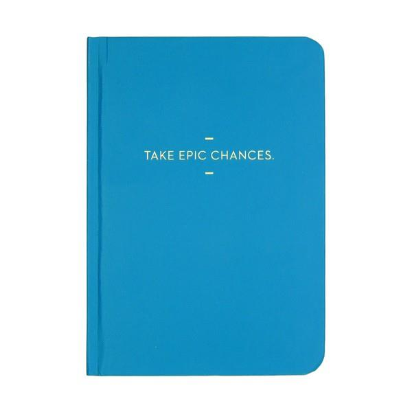 Motto Journal Take Epic Chances | Journal | The Gifted Type
