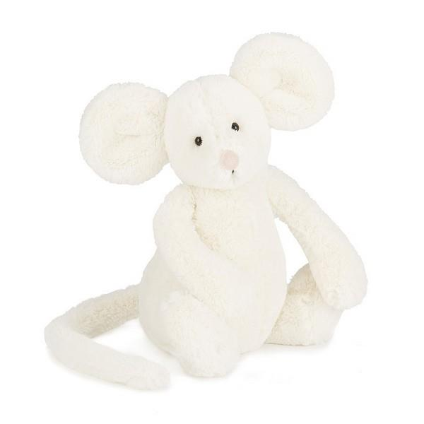 Jellycat Medium Bashful Mouse Cream Plush | The Gifted Type