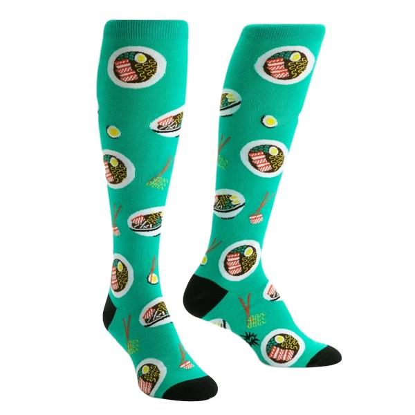 Sock It To Me Women's Knee Sock Ra-Man! | The Gifted Type