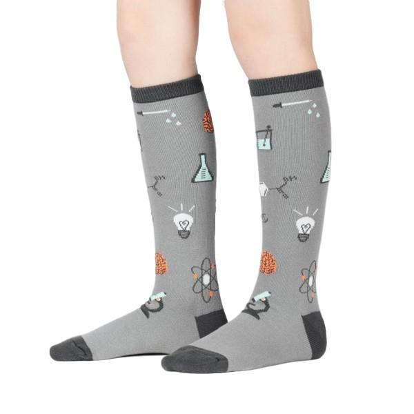 Sock It To Me Youth Knee Sock Science Of Socks | The Gifted Type