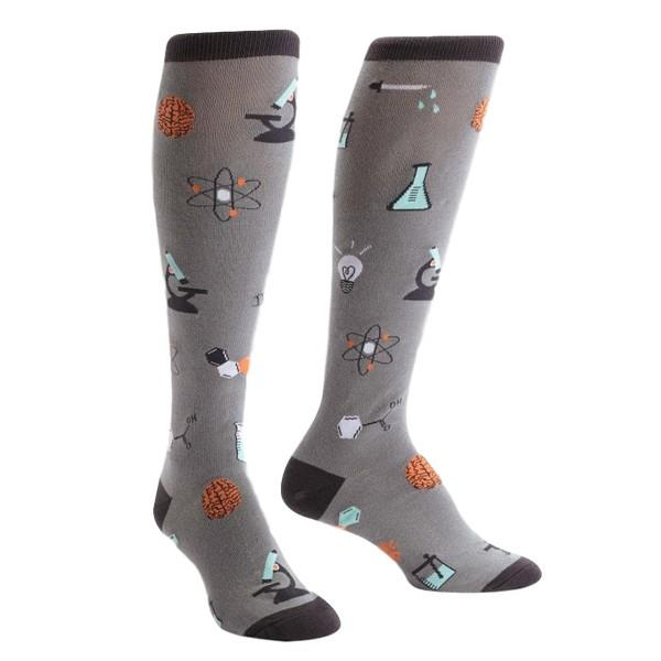 Sock It To Me Women's Knee Sock Science Of Socks | The Gifted Type