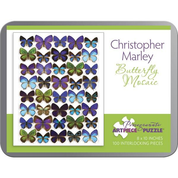 Pomegranate Puzzle Butterfly Mosaic | 100 Pieces | The Gifted Type