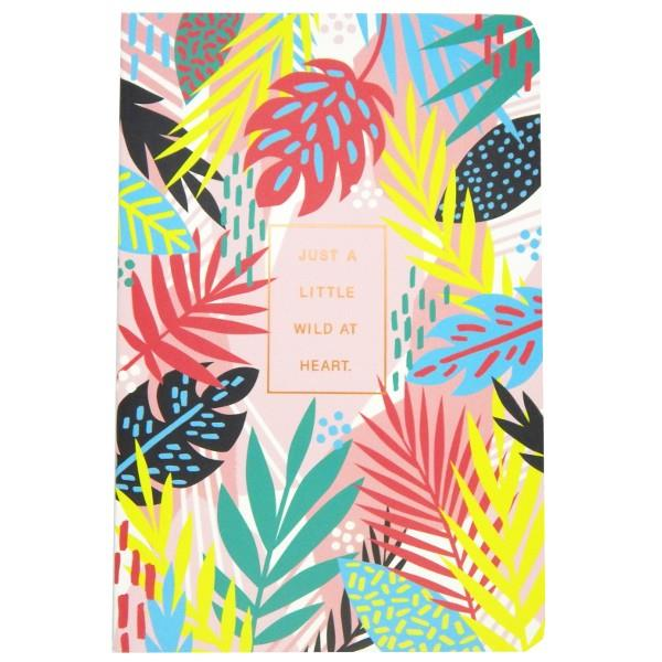 Just A Little Wild At Heart | Notebook Set | The Gifted Type