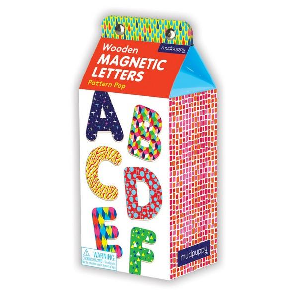 Wooden Magnets Letters Pattern Pop | Educational Toys | The Gifted Type