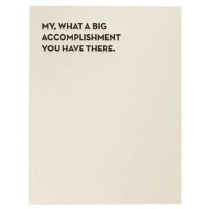 Sapling Press Card #933 Big Accomplishment | The Gifted Type