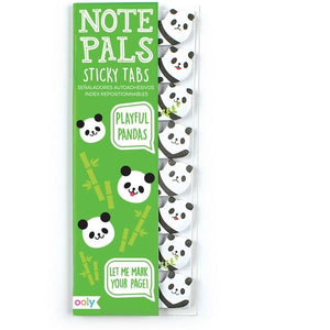 Sticky Tabs Playful Pandas | The Gifted Type