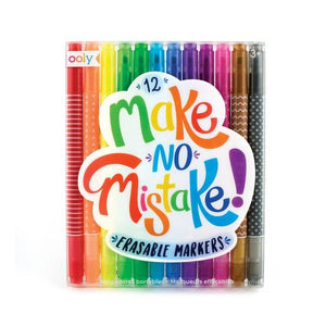Make No Mistake Erasable Markers | The Gifted Type